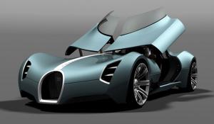 concept car Buggati-Aerolithe