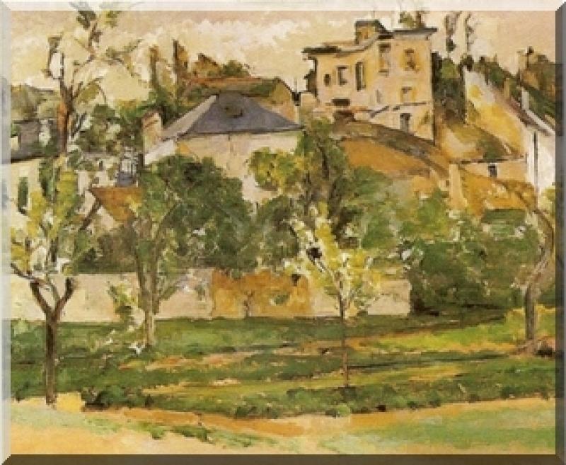 impressionnistes Le jardin de Maubuisson par Cezanne 1877