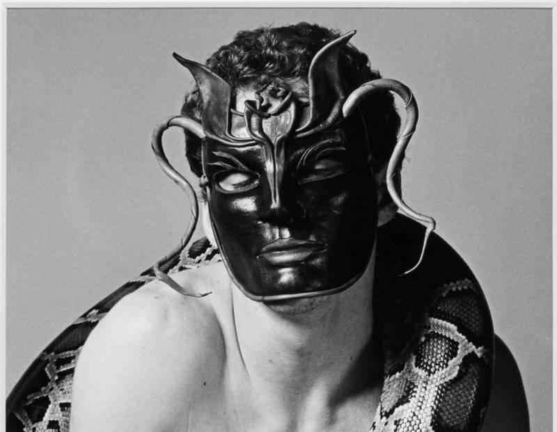 Snakeman 1981 by Robert Mapplethorpe 1946-1989