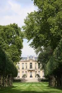 Hôtel Matignon Vue des jardins_DR