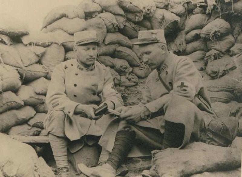 lignes et guerre musée lettres