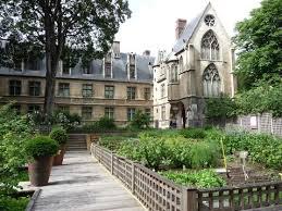 jardin medieval du musee de Cluny