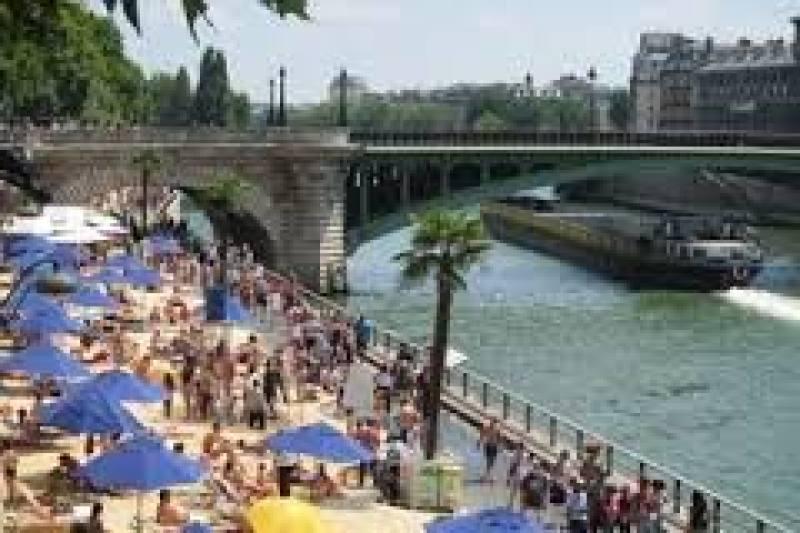paris plage pompidou